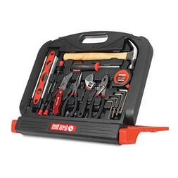 Clever stand-up case keeps your tools easily accessible. - G