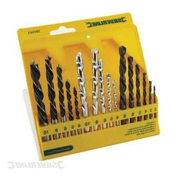 Silverline Combi Drill Bit Set 16pce 4-10mm