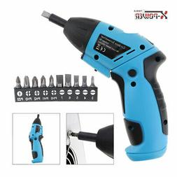 cordless battery power 6v electric screwdriver drill