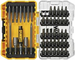DEWALT Screwdriver Bit Set with Tough Case, 45-Piece