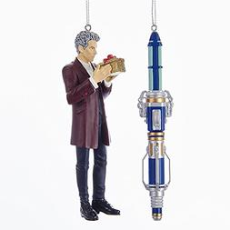 Kurt Adler DOCTOR WHO 12TH DOCTOR AND SONIC SCREWDRIVER - 2