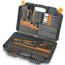 VonHaus 246-Piece Drill and Drive Bit Set with Titanium Coat