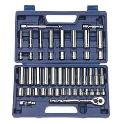 Williams 50666 3/8-Inch Drive Socket and Drive Tool Set, 47-