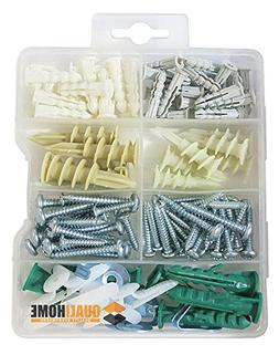 Qualihome Drywall and Hollow-wall Anchor Assortment Kit, Anc