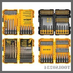 DeWalt DWA2FTS100 100-Piece Steel Hex Shank Screwdriver Bit