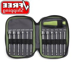 Craftsman Evolv 13 Piece Quick Fit Nut Bolt Driver Set with