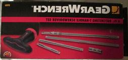 6 Piece GearDriver T-Handle Socket Driver Set