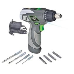Genesis GLSD72A 7.2V Lithium-Ion 2-Speed Screwdriver, Grey,