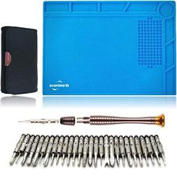 DREMINOVA Repair Silicone Soldering Mat With 25 in 1 Micro B