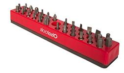 Olsa Tools | Hex Bit Organizer with Strong Magnetic Base | P