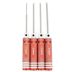 Hex Screwdriver - TOOGOOTiNi Hex Driver Wrench 4Pcs Set 1.5m