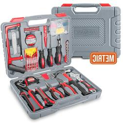 Hi-Spec 120 pc Home & Garage Tool Kit with Long Nose Pliers,