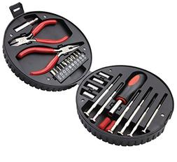 Small Home Repair Tools Kits Set Mini Portable Tool Set Scre