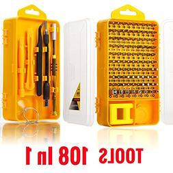 LEiJing 108 In 1 Screwdriver Sets Multi-function Computer Re