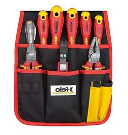 Felo 9 Piece 1000-Volt Insulated Screwdriver/Pliers/Cutters/
