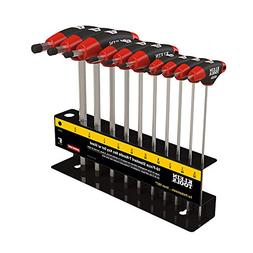 T-Handle Set with Stand, 9-Inch Blade, 10-Piece Klein Tools