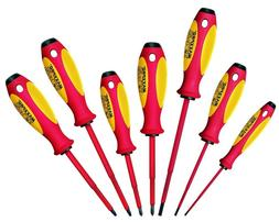Knipex Witte MAXXPRO Insulated 7pc Screwdriver Set 1000V 9T6
