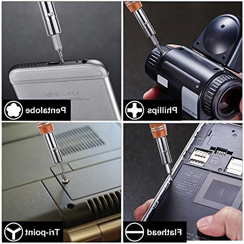 Vastar 62 in 1 with Driver Kit, Screwdriver Set Smartphone Kit Plus,7/7 Plus and other Cell Macbook,Clock, Game More