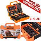 45 in 1 JM-8139 Screwdriver Set Repair Kit Opening Tools For