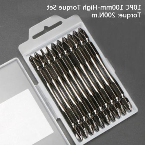 10x PH2 End Phillips Hex Shank -