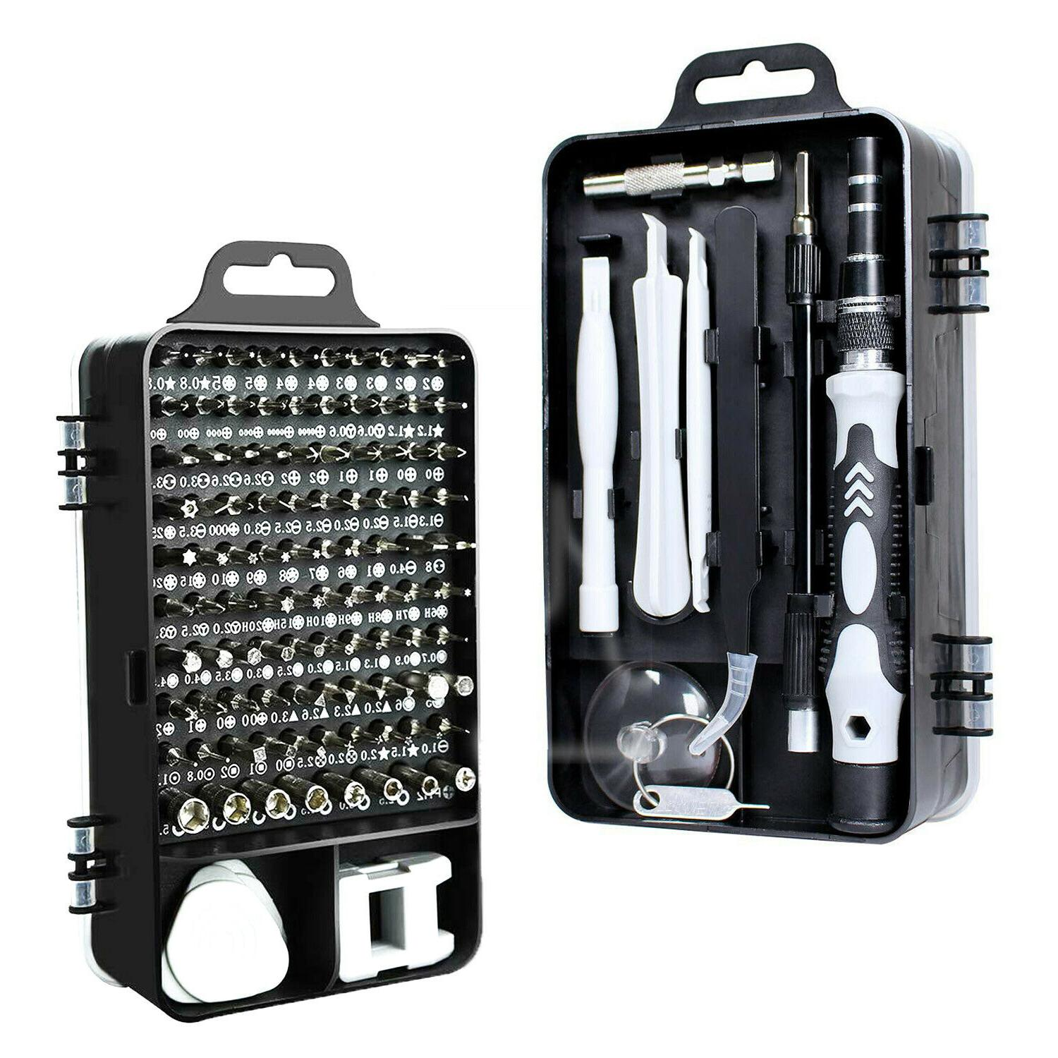 110 in 1 magnetic precision screwdriver set