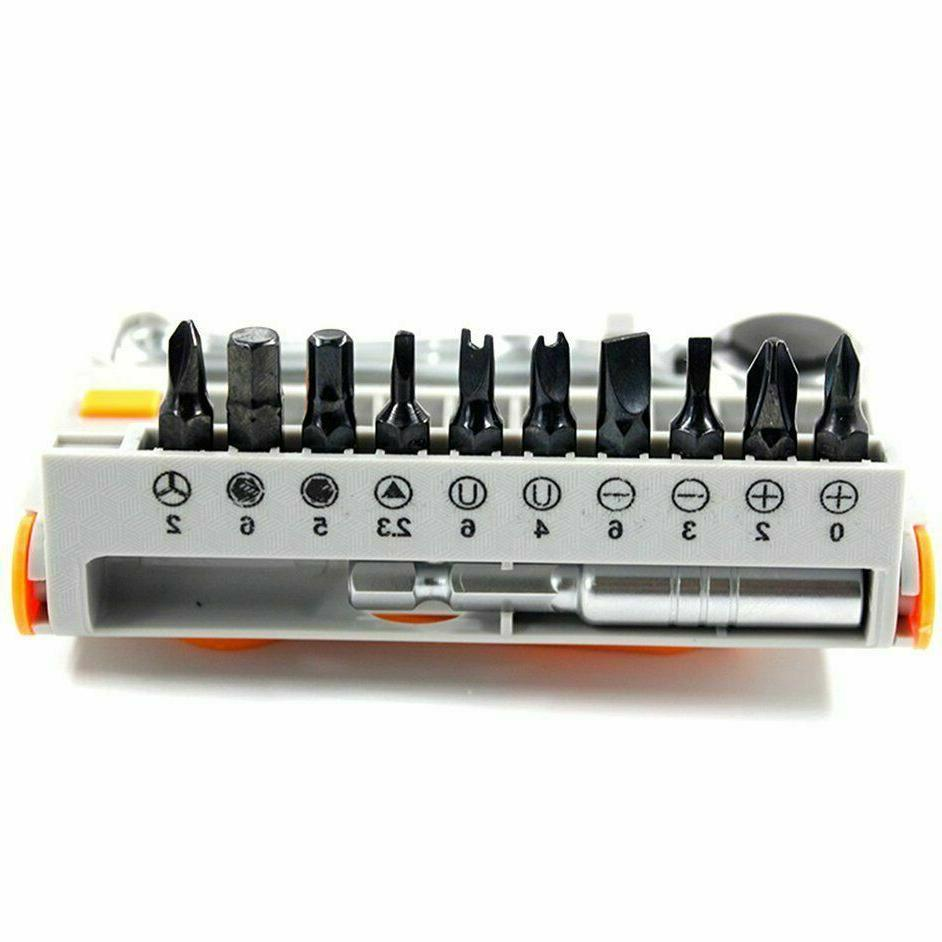 12-Pc Screwdriver Tool Bit Set A