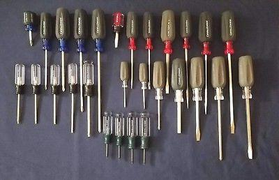 28 piece screwdriver set phillips slotted torx