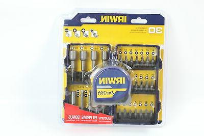 30 piece screwdriver set with bonus tape