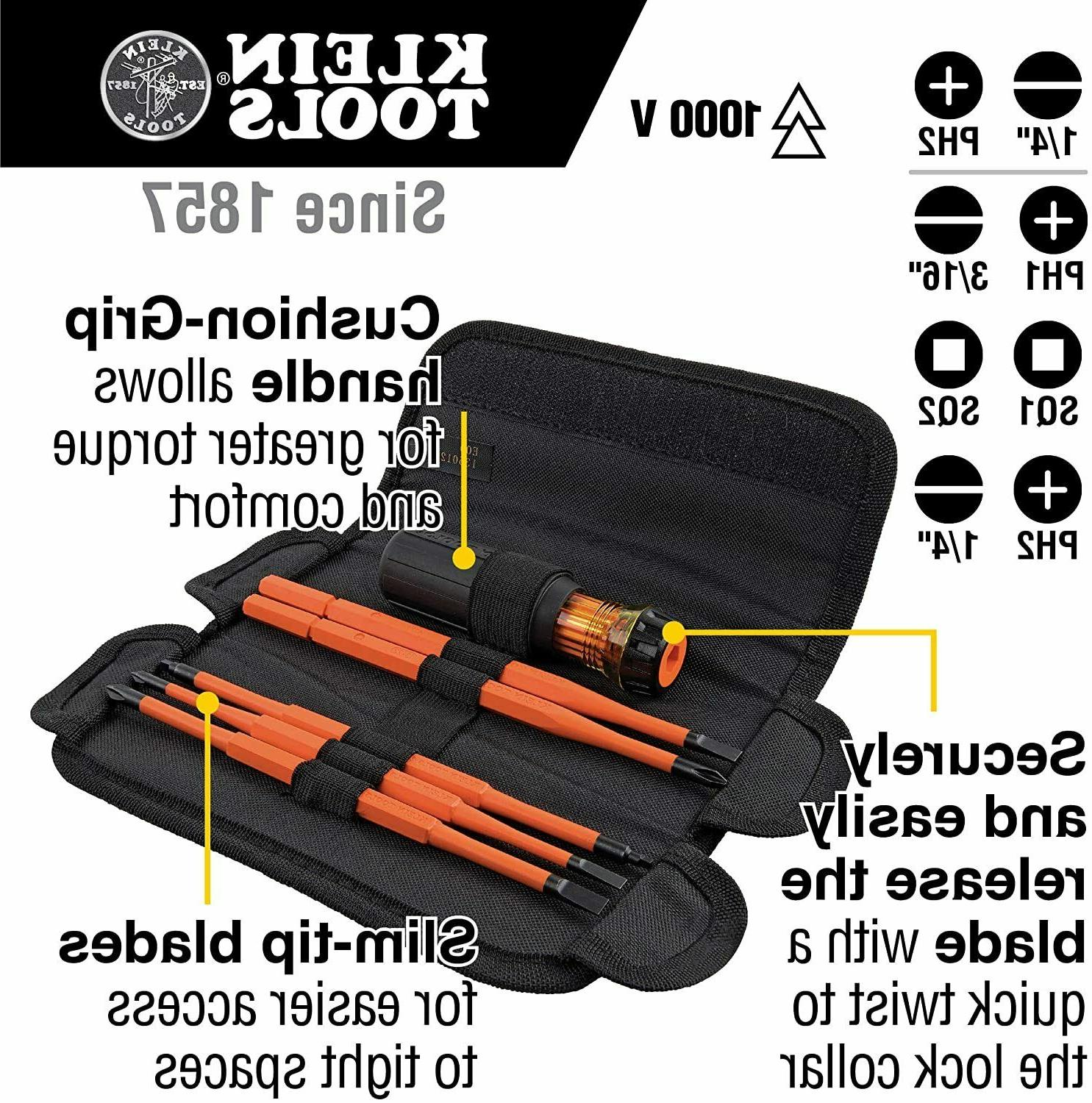 Klein Tools with case