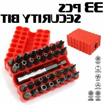 33pc Security Torq Set Holder