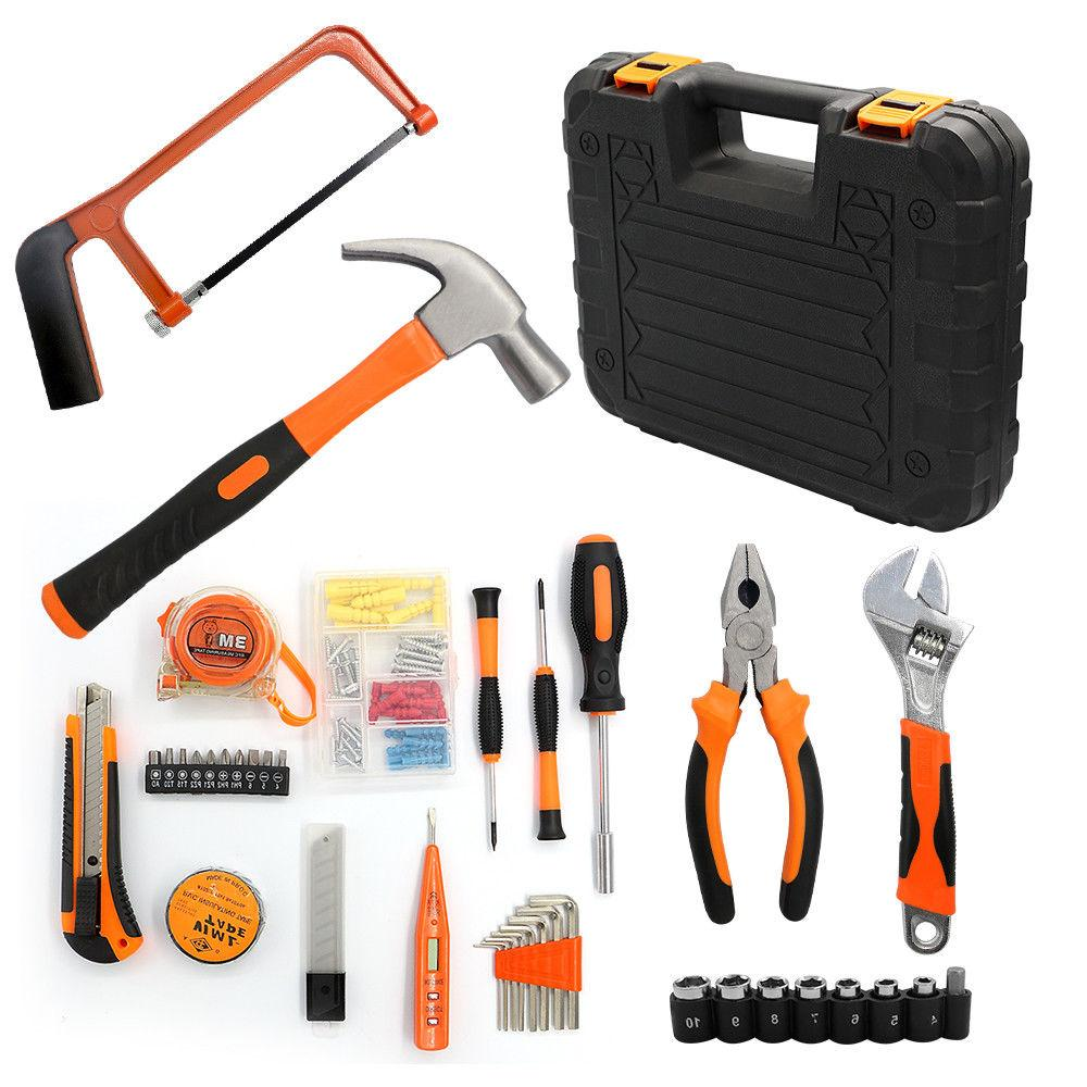 35pc Electrician's Tools Set Home Saw Knife Electric Screwdr