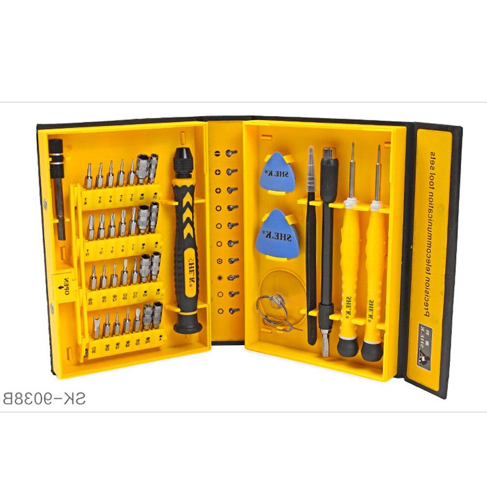 38 combination kit <font><b>Computer</b></font> iPhone repair Smart Phone Multifunction Screw Tools