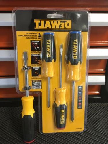 4 piece screwdriver set dwht62512 screw driver