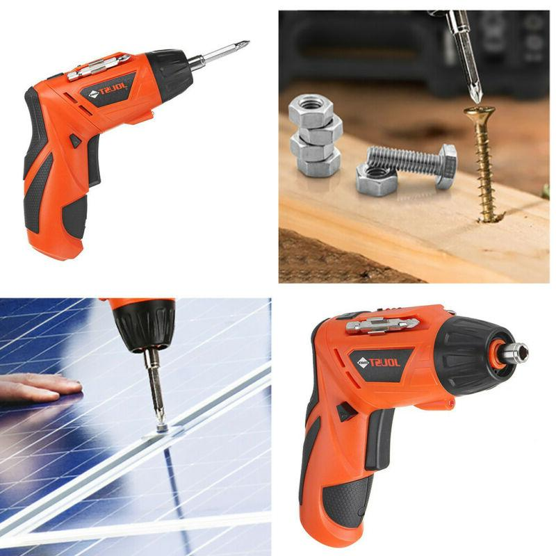 lectric Cordless Screwdriver Rechargeable 45PCS Kit Tool