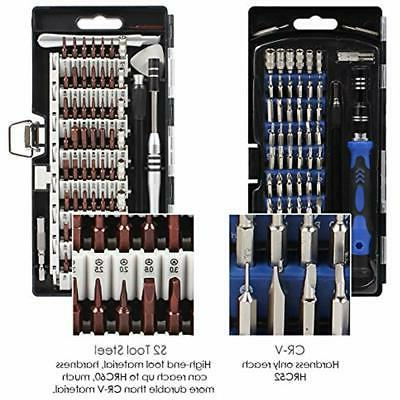 63 End In 1 Screwdriver Set 57 Kit