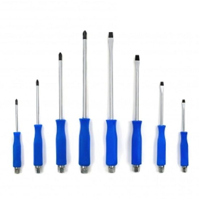 8pc hammer head screwdriver set with magnetic