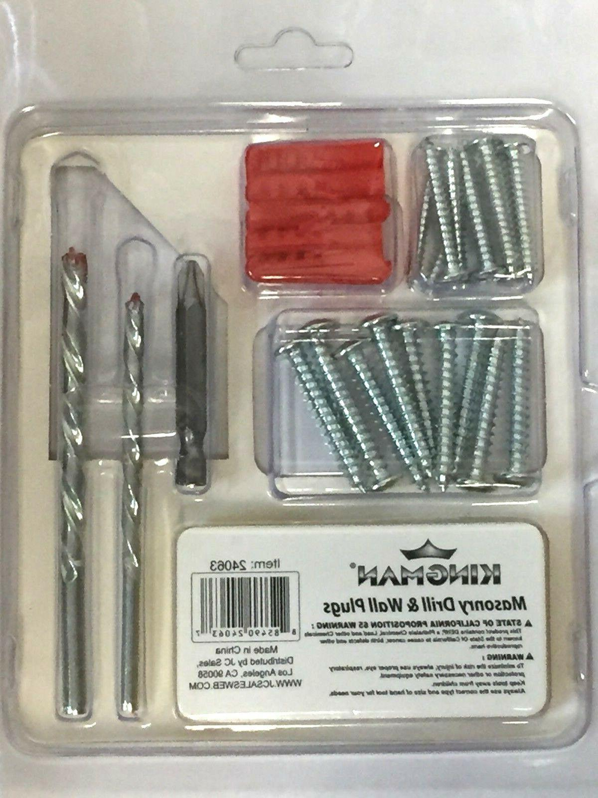 Pack Drill + Screw Screw Driver Bit Set