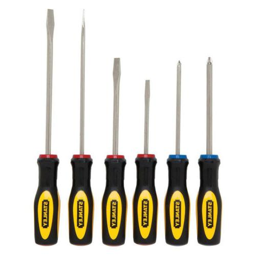 STANLEY VARIETY SET 6 Steel Shaft Screw Tools