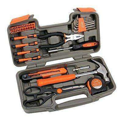 Apollo 39-Piece Tool Blue& Orange& Pink
