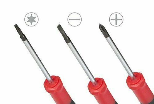 Best Choice 9-Piece Precision Screwdriver Set | Flat and Torx Star