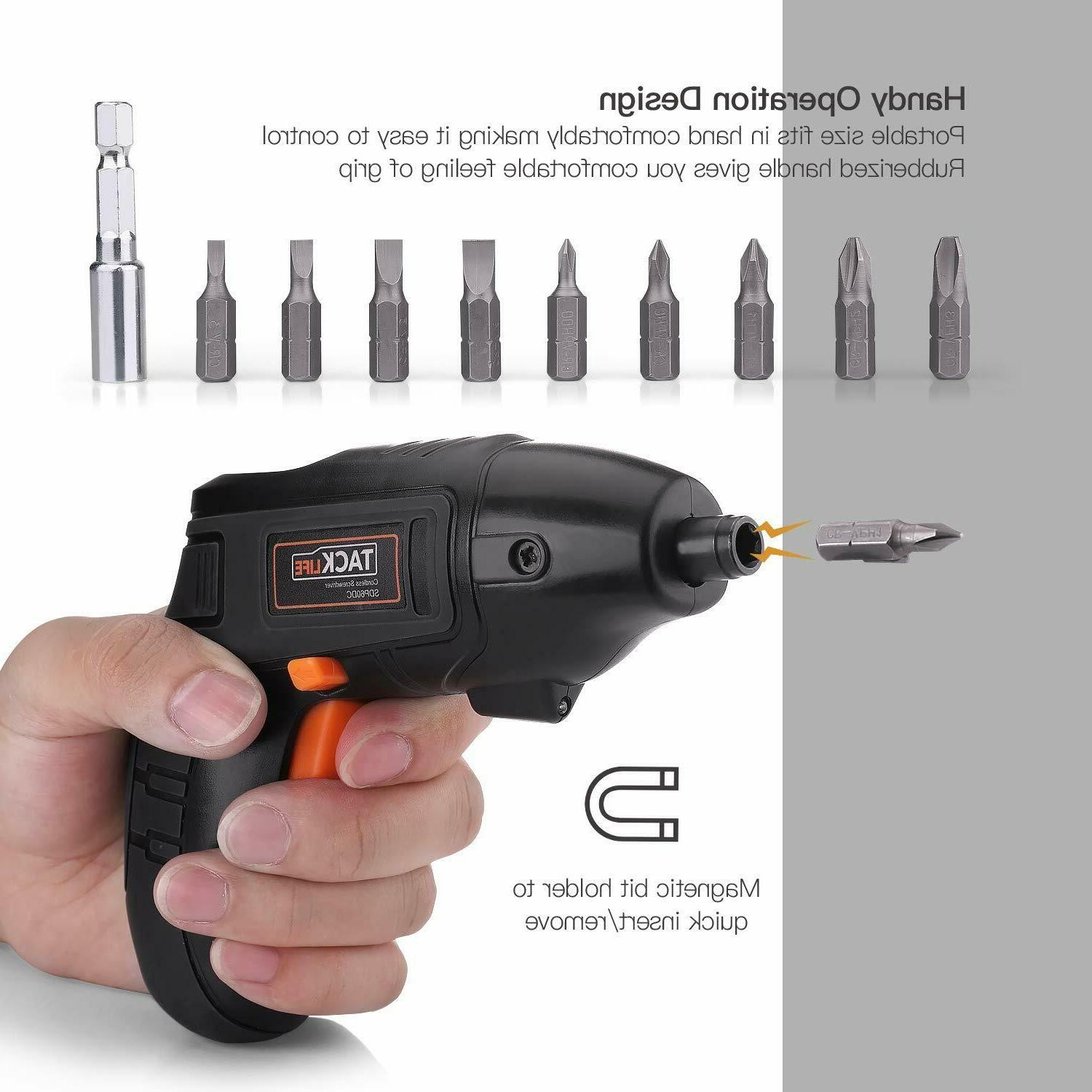 Cordless Rechargeable Set Drill Kit