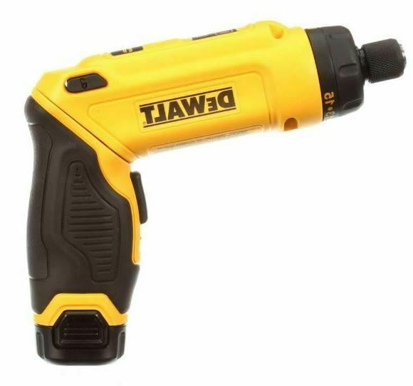 DEWALT Cordless Electric Rechargeable Screw Driver Tool