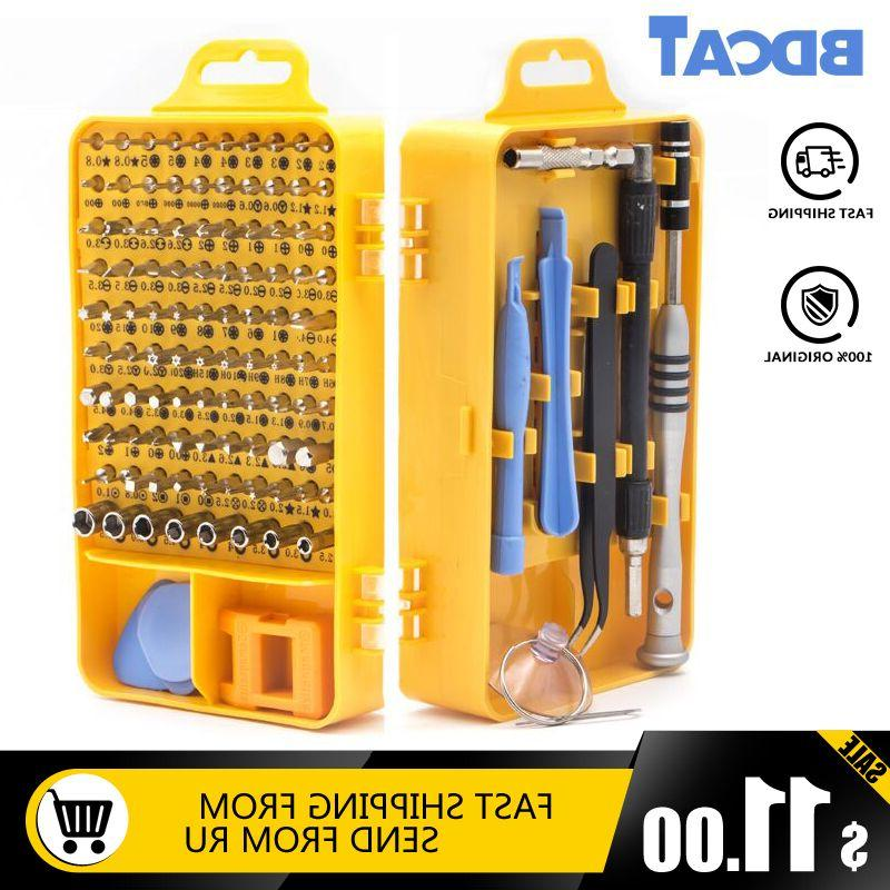 drop 108 in 1 font b screwdriver
