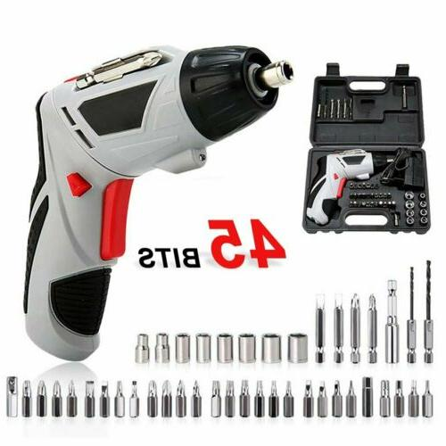 Electric Screwdriver Rechargeable Kit