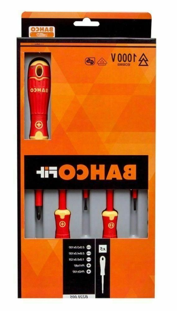 BAHCO FIT INSULATED SCREWDRIVER