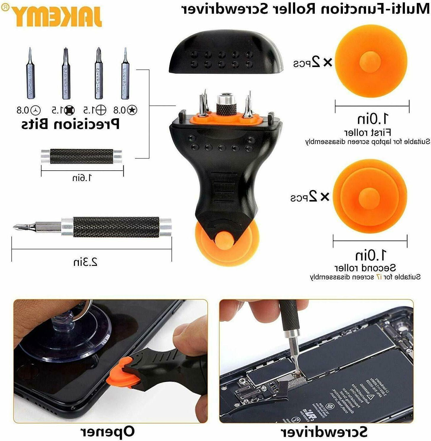 Jakemy Screwdriver 99 in with Magnetic Repair T