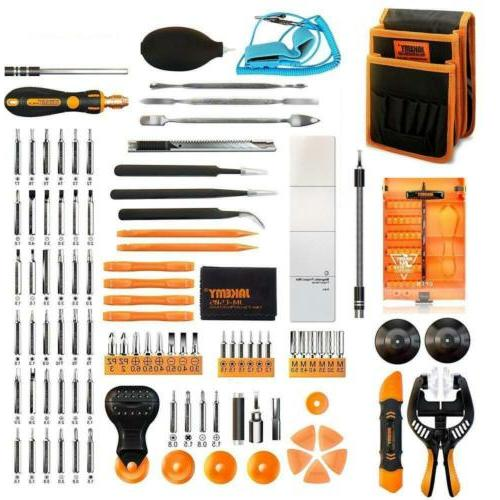 jakemy screwdriver set magnetic precision driver bits kit po