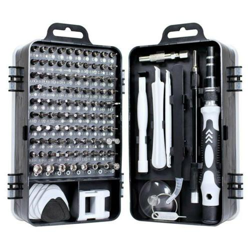 mini precision screwdriver set 115 piece magnetic