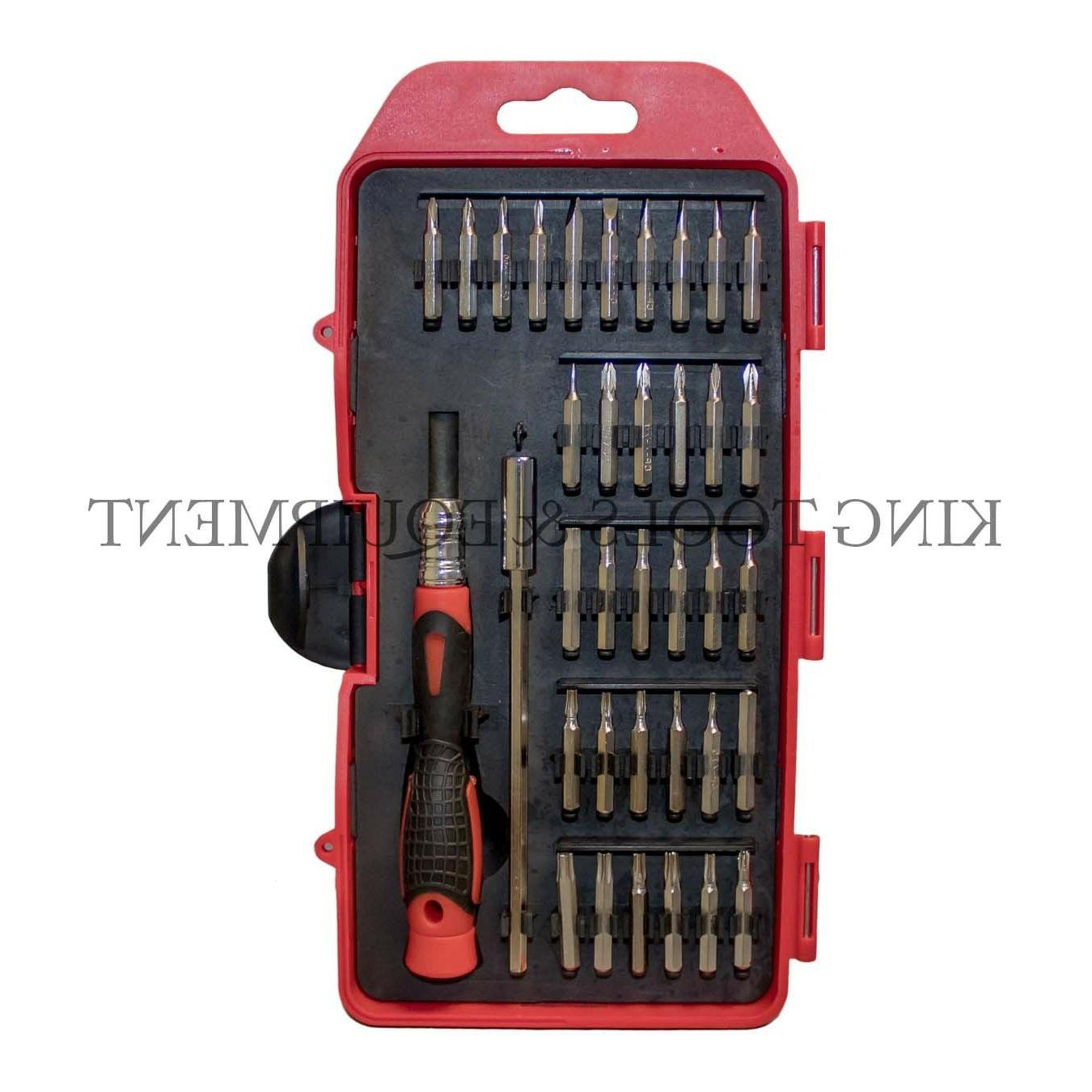 new 36 pc precision screwdriver and bits