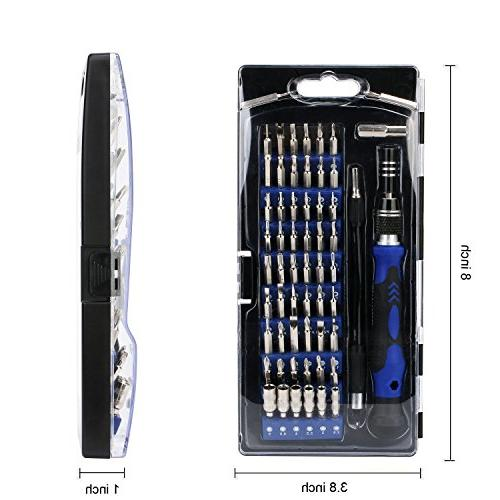 Precision 56 Magnetic in 1 Tool Set,with Shaft,Opener,Professional for 8/Smartphone/Laptop/Xbox/Tablets/Camera/Toy
